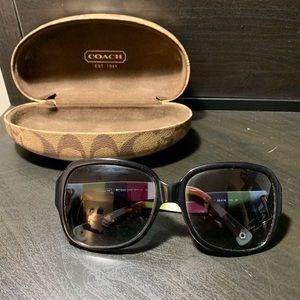 Black Coach Bridget Sunglasses
